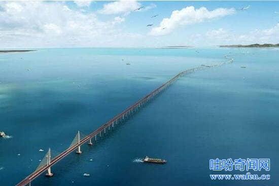 世界上最高最长的大桥中国北盘江大桥有200层楼高565米